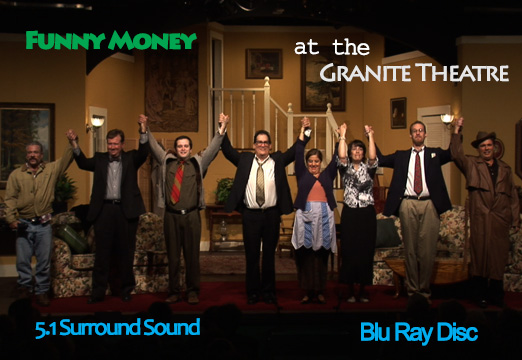 FUNNY MONEY SS titled BD cover